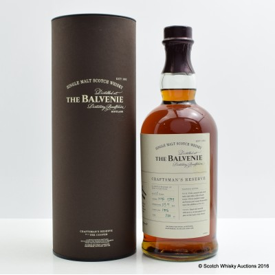 Balvenie 1996 15 Year Old Craftsman's Reserve The Cooper