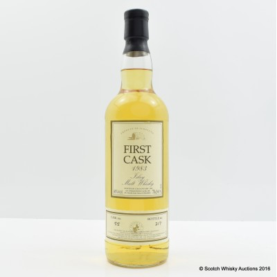 Caol Ila 1983 20 Year Old First Cask