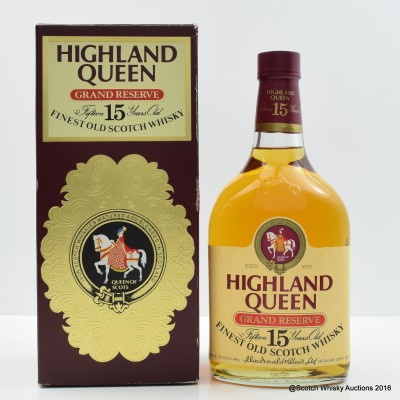 Highland Queen 15 Year Old 75cl