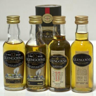 Glengoyne Minis X 4