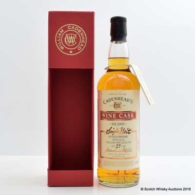Highland Park 1988 27 Year Old Cadenhead's