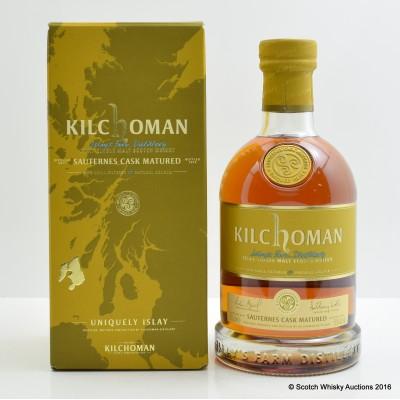 Kilchoman 2011 Sauternes Cask