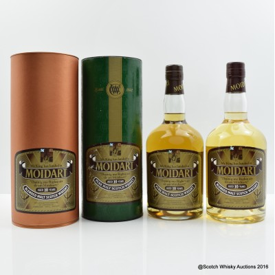 Moidart 10 Year Old 2 x 70cl