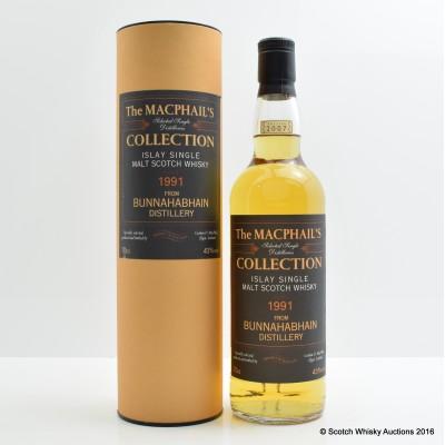 Bunnahabhain 1991 Collection Gordon & MacPhail