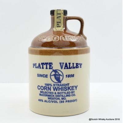 Platte Valley Corn Whiskey Flagon 75cl
