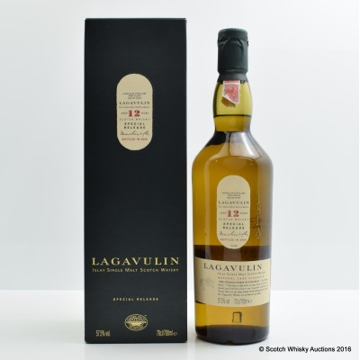 Lagavulin 12 Year Old 2006 Release