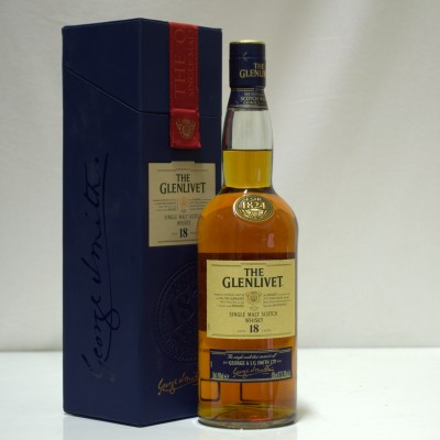Glenlivet 18 Year Old Boxed