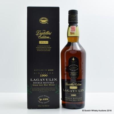 Lagavulin Distillers Edition 1990