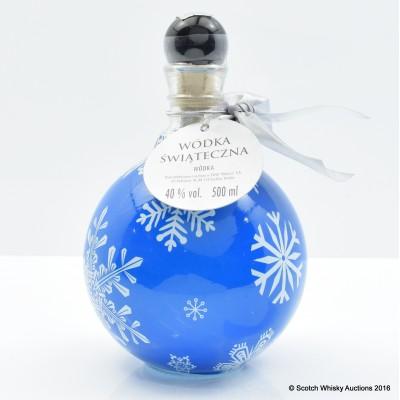 Wodka Swiateczna Blue 50cl