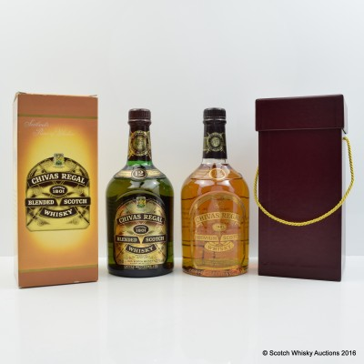 Chivas Regal 12 Year old Commemorative Bottling 70cl & 75cl