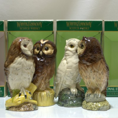 Royal Doulton Scottish Owls Ceramics