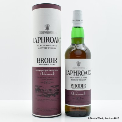 Laphroaig Brodir Port Finish Batch #1