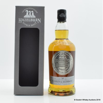 Hazelburn 10 Year Old Rundlets & Kilderkins