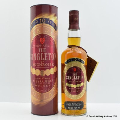 Singleton of Aucroisk 10 Year Old