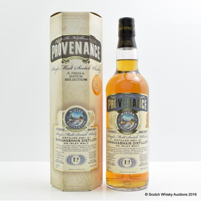 Bunnahabhain 2001 12 year Old Provenance
