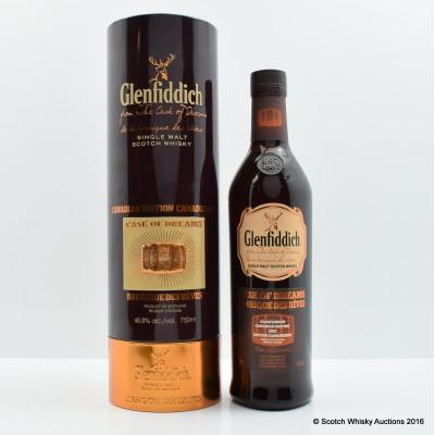 Glenfiddich Cask of Dreams 2012 Canadian Edition 75cl
