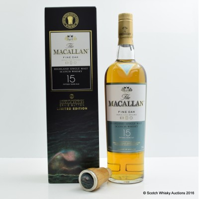 Macallan 15 Year Old Fine Oak Masters of Photography Ernie Button Capsule Edition