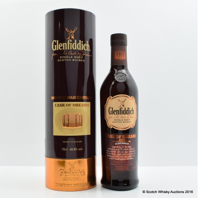 Glenfiddich Cask Of Dreams 2012 Nordic Oak Edition