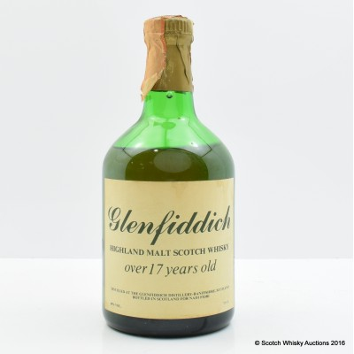 Glenfiddich Over 17 Years Old Bottled For Nadi Fiori 75cl
