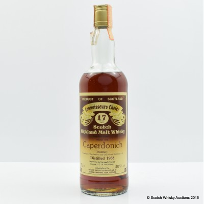 Caperdonich 1968 17 Year Old Connoisseurs Choice 75cl