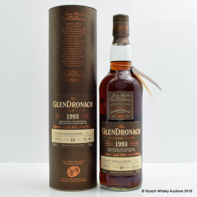 GlenDronach 1993 19 Year Old Single Cask #26