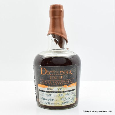 Dictador Best Of 1983 32 Year Old