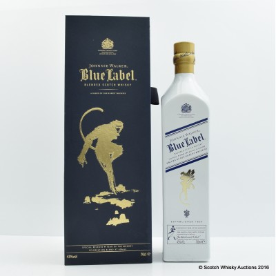 Johnnie Walker Blue Label Year Of The Monkey