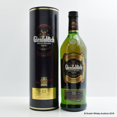 Glenfiddich 12 Year Old Special Reserve 1L