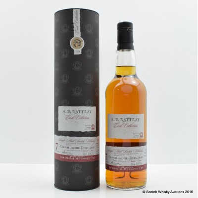 Glenallachie 2007 7 Year Old AD Rattray