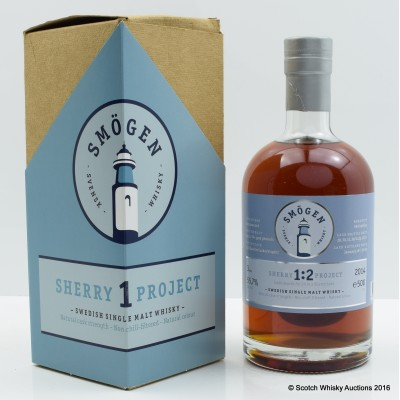 Smögen 2011 3 Years Old Sherry Project 1.2 50cl