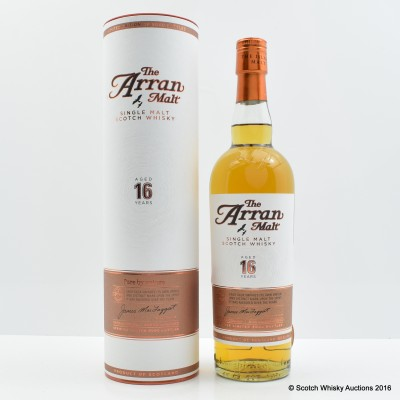 Arran 16 Year Old 2013 Release