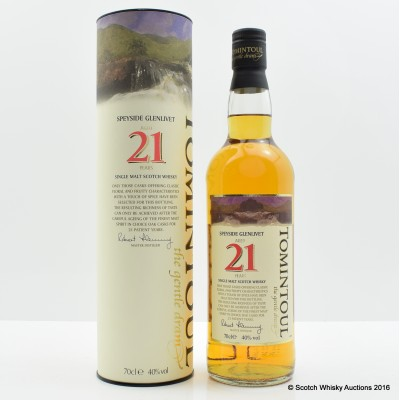 Tomintoul 21 Year Old