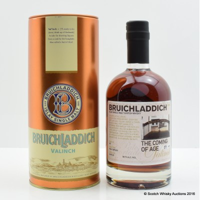 Bruichladdich Valinch The Coming Of Age 50cl