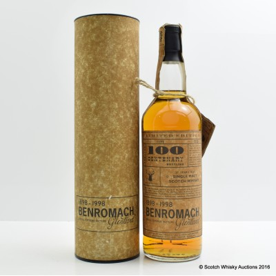 Benromach 17 Year Old Centenary Bottling
