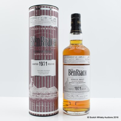 Benriach 1971 40 Year Old