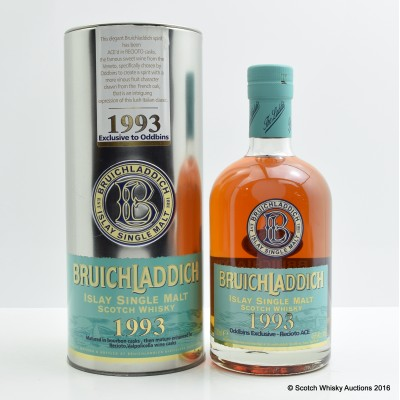 Bruichladdich 1993 13 Year Old Oddbins Exclusive