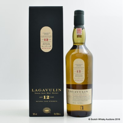 Lagavulin 12 Year Old 2002 Release