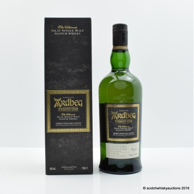 Ardbeg 21 Year Old 2016 Committee Release