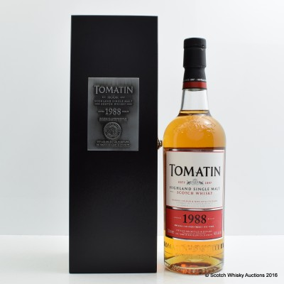 Tomatin 1988 25 Year Old Batch #2