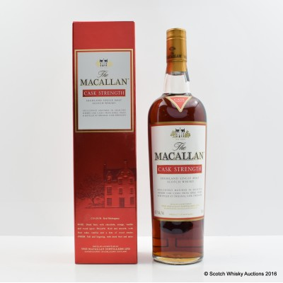 Macallan Cask Strength 75cl