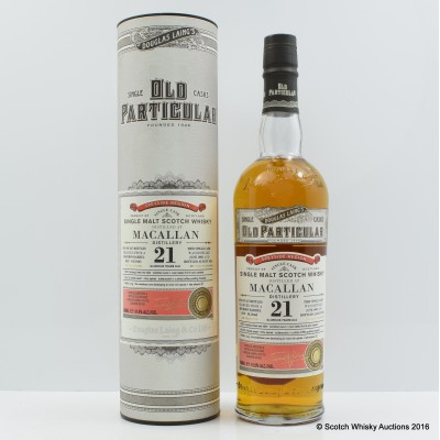 Macallan 1993 21 Year Old Old Particular
