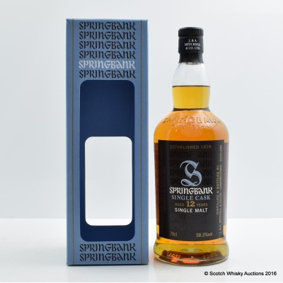 Springbank 2003 12 Year Old Port Wood