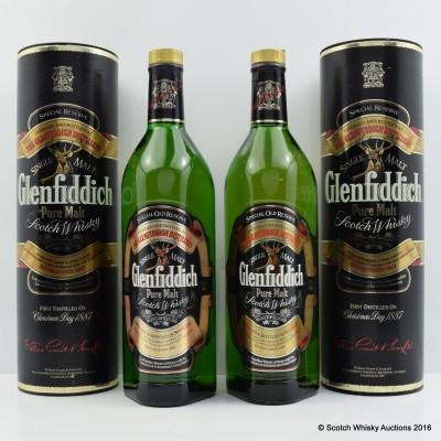 Glenfiddich Pure Malt 2 x 1L