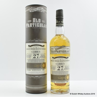 Cambus 1988 27 Year Old Old Particular