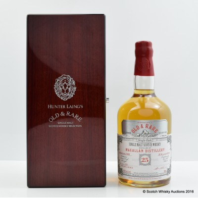 Macallan 1989 25 Year Old Hunter Laing