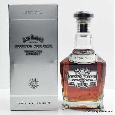 Jack Daniel's Silver Select Single Barrel 30th Anniversary