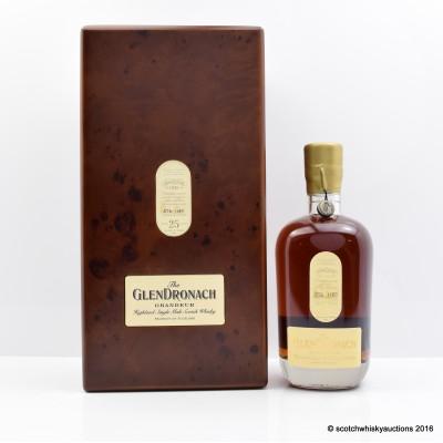 Glendronach Grandeur 25 Year Old Batch #7