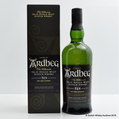Ardbeg 10 Year Old Release The Peat French Release
