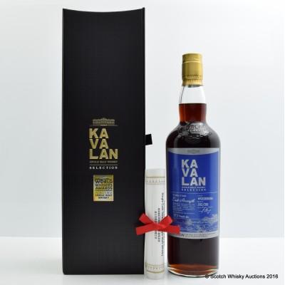 Kavalan Selection Vinho Cask for La Maison Du Whisky 60th Anniversary