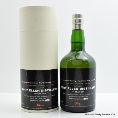 Port Ellen 1978 24 Year Old Whisky Shop Exclusive
